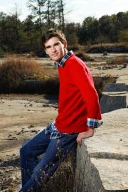 Sam senior pictures. Stone Mountain, GA, urban flair