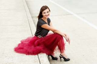 This future scad art student wanted an edgy, modern, twist for her high school senior photos.