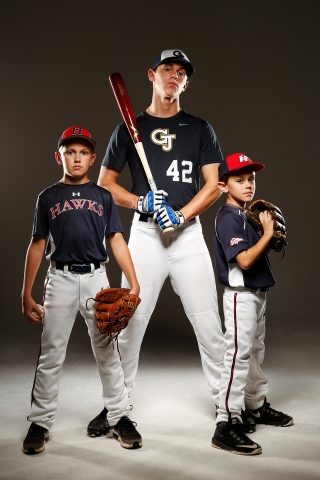 Travel ball family in north georgia decided to celebrate their baseball family. All 3 boys play ball and travel.